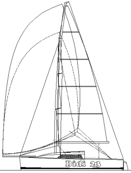 Didi 23 radius chine plywood boat plans