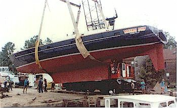 "Dix 64 ""Rising Sun"" on launch day"