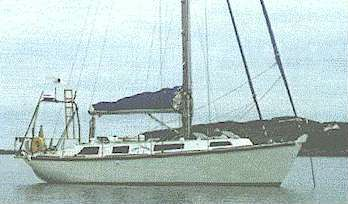 Hout Bay 33 radius chine steel cruiser