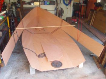 Alan Armstrong of Hout Bay, South Africa, built his Argie 15 from a ...