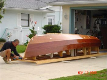 George Angelomatis is building a Challenger 13 in Florida. It looks ...