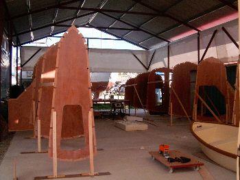 Building The Dh550 Radius Chine Plywood Catamaran