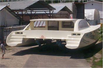 Dix 470 Plywood Cruising catamaran