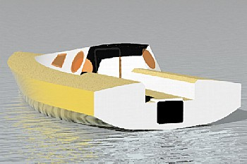 Didi Mini Mk3 radius chine plywood Mini 650 boat plans