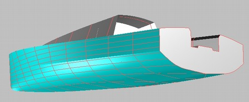 Didi Mini radius chine plywood Mini-Transat boat plans