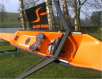 Slade lightweight single racing scull