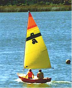 Dixi Dinghy and Argie 10 sailing dinghies