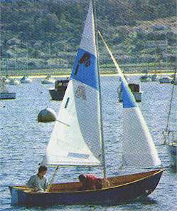 Argie 15 plywood stitch & glue dinghy