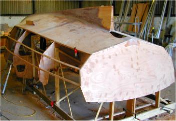 Building the Cape Henry 21 lapstrake plywood trailer sailer