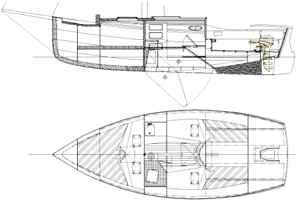 Cape May 25 boat plans
