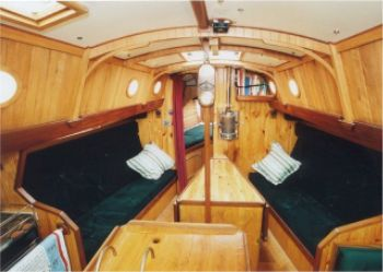 wooden boat interiors boatlirder