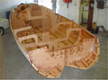 kit by ckd boats for didi 26 trailer sailer