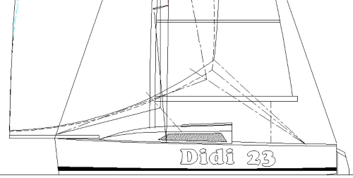 Didi 26 radius chine plywood boat plans