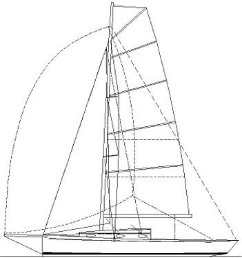 Didi 29 Retro radius chine plywood boat plans