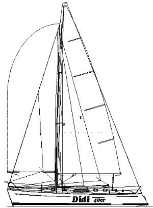 didi 40cr didi 40cr2 radius chine plywood sailboats Wooden E Scow didi 40cr radius chine plywood boat plans