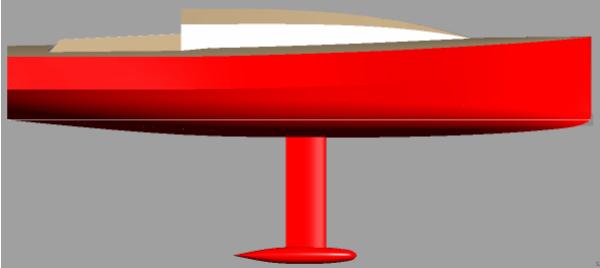 Didi 950 radius chine plywood Class 950 profile