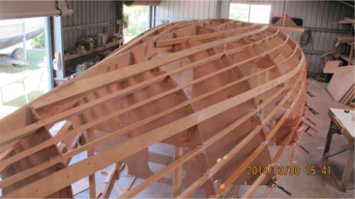 Didi 950 radius chine plywood boat plans