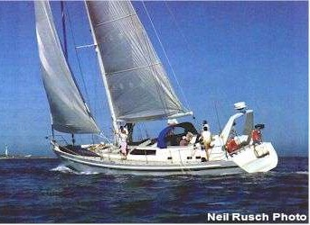 Dix 57 Radius chine steel sailboat