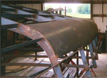 Echo 38 steel and aluminum cruising tug