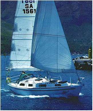 Hout Bay 33 radius chine steel cruiser boat plans