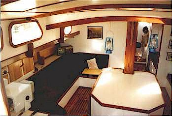 "Interior of Hout Bay 50 ""Cape Rose"""