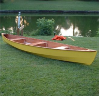 Lynnhaven 16 plywood stitch & touring canoe