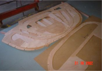 Mini-transat radius chine plywood kits