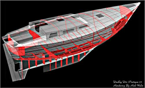 Pratique 35 boat kit rendering