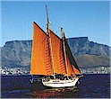 "Hout Bay 50 ""Cape Rose"" on Table Bay"