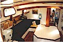 "Hout Bay 50 ""Cape Rose"" interior"