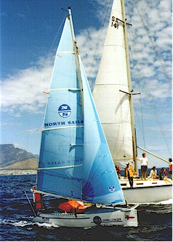 Ant Steward departs Table Bay