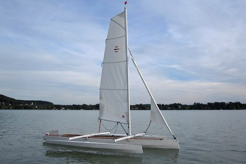 ... to be a fast sailing trimaran. Trika is an excellent family fun boat