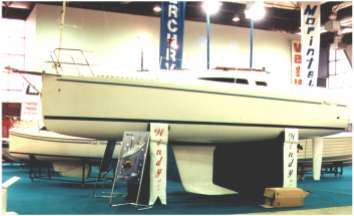 Windy 900 cruiser racer boat plans