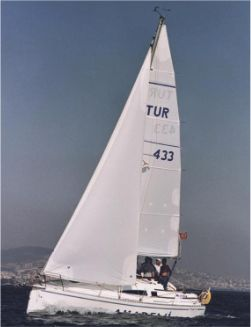 Windy 900 GRP cruiser racer